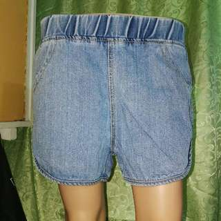 Highwaist Garterized Shorts 27-31