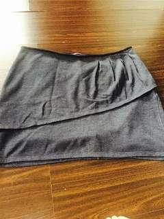 Promod Gray Skirt