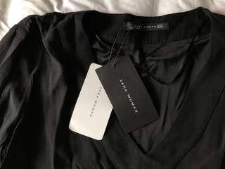 SALE Original Zara Blouse (black)