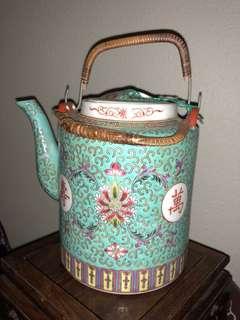 Porcelain Teapot-6.2寸高