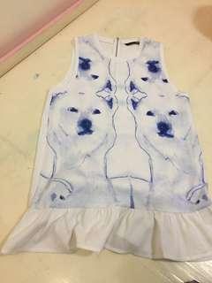 Pemplum type Dress