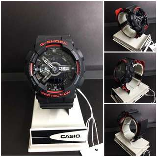 ON HAND - 100% Authentic Gshock GA110HR-1A