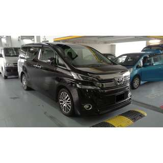 Toyota Vellfire'17 For Grab!!!!!