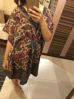 🚚 民族風圖騰洋裝