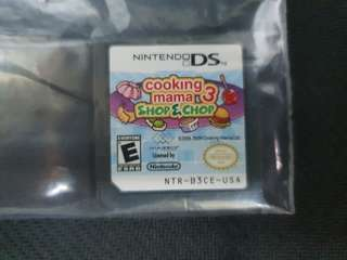 NDS Cooking Mama 3: Shop & Chop (Used Game)