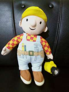 Bob the Builder stuffed toy