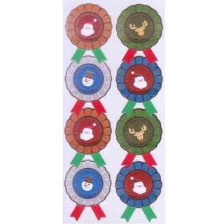 Banana Brand Christmas Seals/Stickers (Design 1)