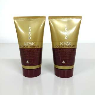 2x Joico K-Pak Color Therapy Luster Lock Instant Shine & Repair Treatment 50ml + Free Postage