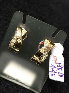SD Earrings 18K