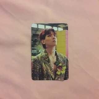 EXO Baekhyun The War Photocard