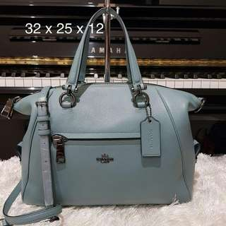 Coach Primrose Cloud sz 32x25x15 (two ways bag, bisa jadi satchel dan tote)