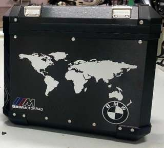 BMW Box Panniers Decal