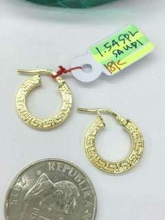 SD Gold Earrings 18K