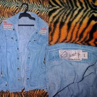 Hippie Denim Jacket ♡
