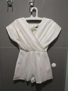 Love and Flair white jumpsuit (sz 1)