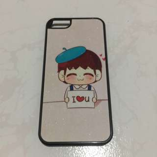 iPhone 5 5s I Love You Case