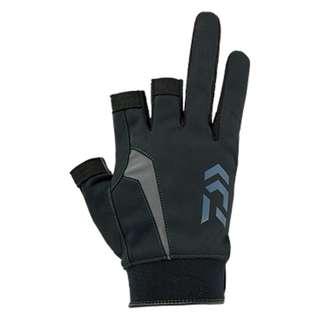 Daiwa - Nano-Front Padded Three Finger Cut Gloves - DG-60008