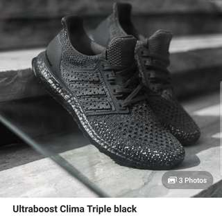 WTB ULTRBOOST CLIMA BLACK ONLY