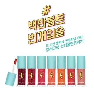 (P.O.) Colorgram Thunderbolt Lip Lacquer