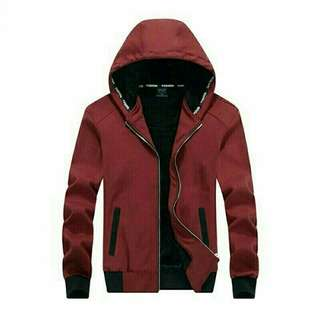 PP Jaket Leo Red yq   Jaket bahan destiny fleece LD108 PB70