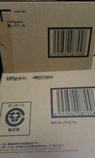 全新 限定 日版 連啡盒 Shf s.h.figuarts 龍珠 Dragon ball 魔人 比達 Majin Vegeta