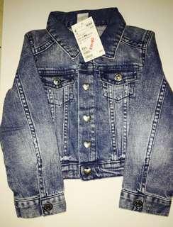 H&M Denim Jacket (2-3Y)