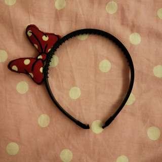 🚚 米妮 蝴蝶結 髮箍