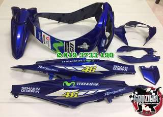 Yamaha lagenda SRL 115Z 115ZR 115fi (fuel injection)  Movistar Coverset