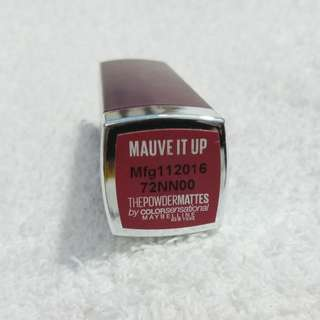 Maybelline Powder Mattes in Mauve it up