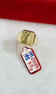 SD Gold Mens Ring