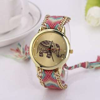 Knitted Strap Watch