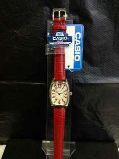 """LTP-1208E-9B2卡西歐品牌手錶""""Casio""""日本機芯一年保養"""