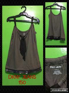Preloved DKNY Jeans Top