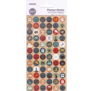 Miniso Planner Stickers (Travel)