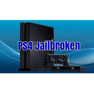 PS4 Jailbreak Service free 10 games & tool