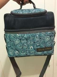 Cooler Bag Natural Moms Cookie Monster