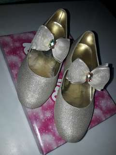 SUGAR KIDS Glittery Gold shoes