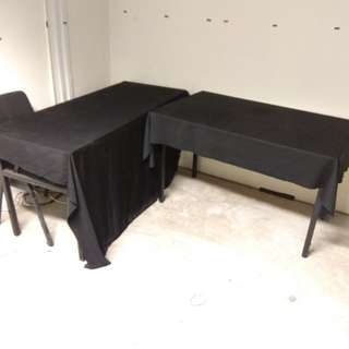 Black Fabric /Table cloth