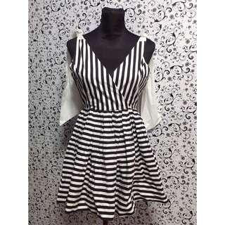Super Pretty Black&White Dress