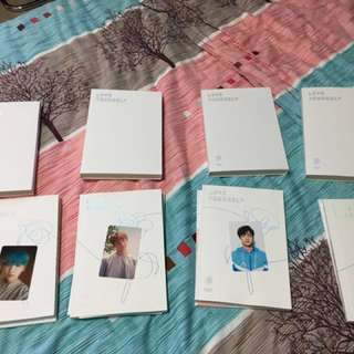WTS/WTT LOVE YOURSELF PICTURE CARDS