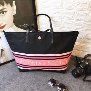 Victoria's Secret  Large Top Zip Tote