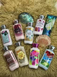 BNIS Bath & Body Works Body lotion
