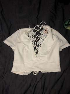 Lacey up crop