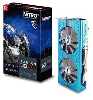 Sapphire 11244-01-20G Radeon NITRO R9 390 8GB GDDR5 DVI-D/HDMI with Back Plate (UEFI)