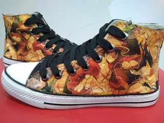 Customize one piece anime shoes