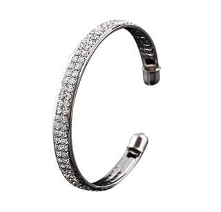 Gelang Aksesoris Perhiasan Wanita Silver