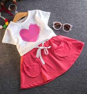 🚚 女童♥心套裝
