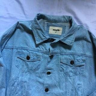 SMYTH Ripped Denim Jacket