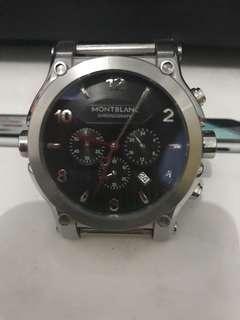 #mausupreme Montblanc chronograph