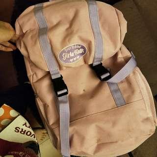 🚚 粉紅 後背包 背包